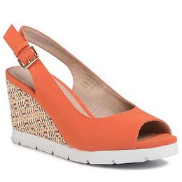 Espadrilles CLARA BARSON - LS5206-03 Dark Orange
