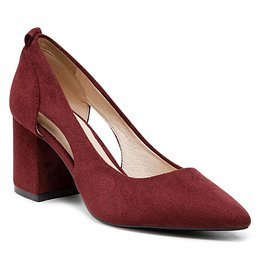 Félcipő BETSY - 907002/01-07 Wine Red