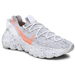 Cipő NIKE - Space Hippie 04 CD3476 100 Summit White/Hyper Crimson