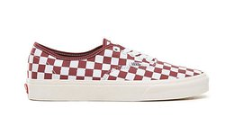 Vans Ua Authentic Checkerboard Port Royal Piros VN0A38EMU54