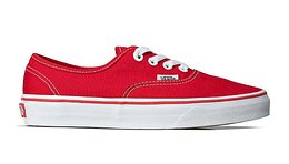 Vans Ua Authentic Red Piros VN000EE3RED