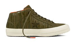 Converse One Star Mid Water Resistant High Tops Zöld 158836C