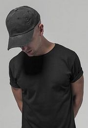 Urban Classics Low Profile Destroyed Cap black