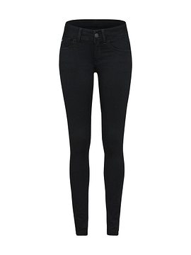 G-Star RAW Farmer 'Lynn d-Mid Super Skinny'  fekete farmer