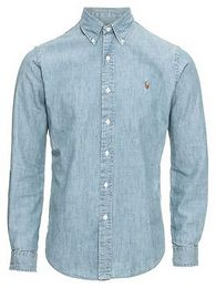 POLO RALPH LAUREN Ing 'SL BD PPC SP-LONG SLEEVE-SPORT SHIRT'  kék farmer
