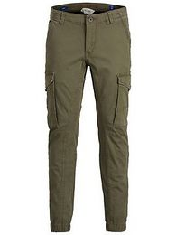 Jack & Jones Junior Nadrág 'Paul'  khaki
