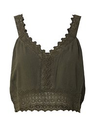 ABOUT YOU Top 'Giona'  khaki