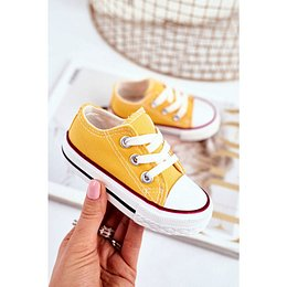 Children's Sneakers Yellow Filemon