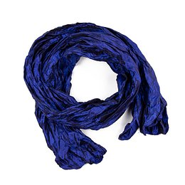 Art Of Polo Woman's Scarf sz0221 Navy Blue