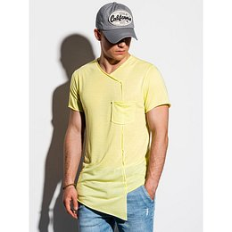 Ombre Clothing Men's plain t-shirt S1215
