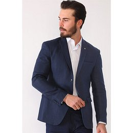 C9051 DEWBERRY MEN's JACKET-LACİVERT