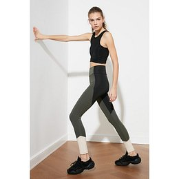 Trendyol Green Knitted Sports Tights