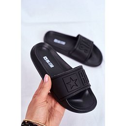 Children's Sliders Big Star Black DD374157