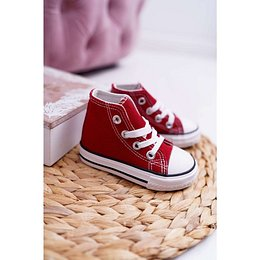 Children's Sneakers High Red Filemon