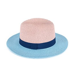Art Of Polo Unisex's Hat cz19145 Light Blue/Light Pink