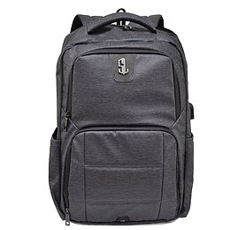 Semiline Unisex's Laptop Backpack with USB port P8000