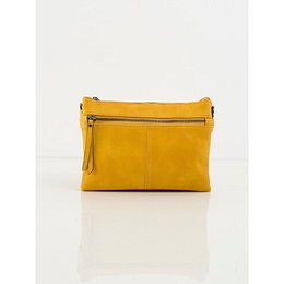 Mustard eco-leather bag