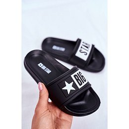 Children's Sliders Big Star Black DD374150