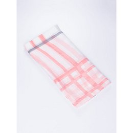Light pink cotton scarf with fringes