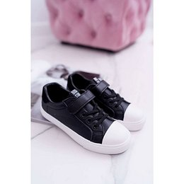 Children's Sneakers With Velcro Big Star DD374108 Black