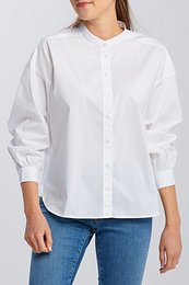 ING GANT D1. OVERSIZED BAND COLLAR SHIRT
